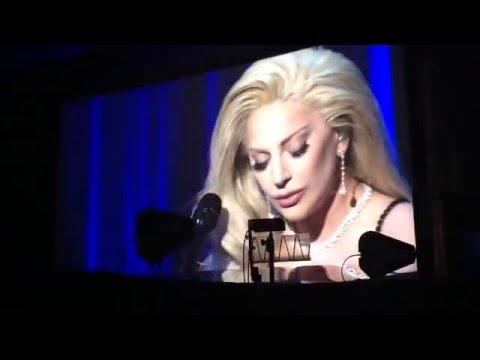 Lady Gaga - Til It Happens To You - Live  2016