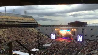 Bayou Country Superfest 2015 - Time lapse video of the storm blowing in on Sunday night.