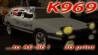 k969 drifting ae 86