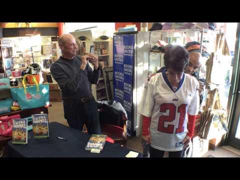 Books and Greetings Signing Tiki Barber on BeTerrific