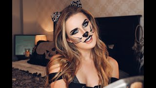 Halloween Costume Ideas: Sexy Cat Makeup & Cut Crease