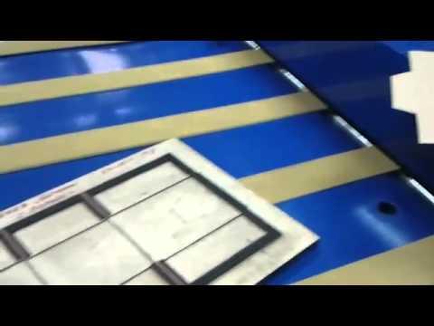 Как высекаются картонные коробки