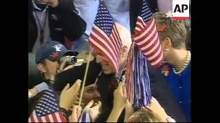 USA: PRESIDENTIAL ELECTION CAMPAIGNING LATEST