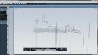 Cubase 5 Правка вокала VariAudio