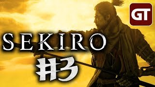 Thumbnail für Sekiro Deutsch #3 - Let's Play Shadows Die Twice PC German