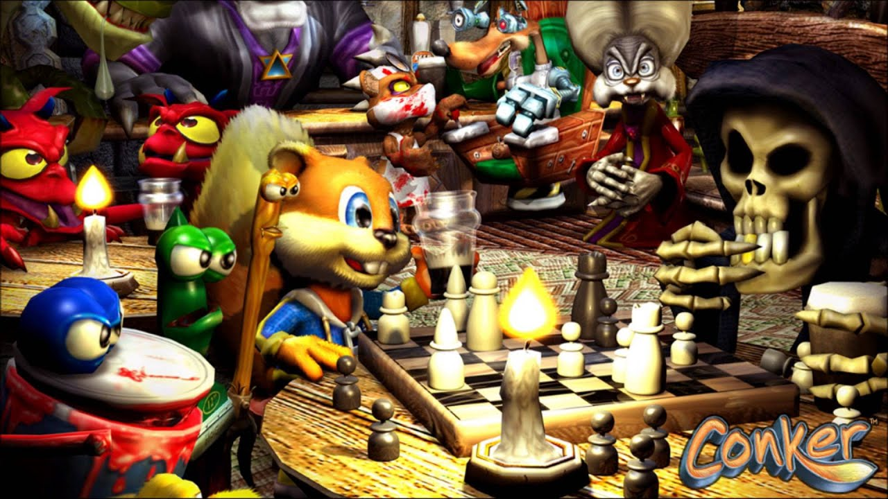 Conker S Live Reloaded Unboxing Xbox Youtube