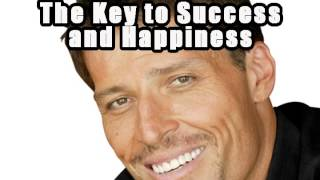 The Secret To Happiness And Success AMAZING Rare Tony Robbins Motivation