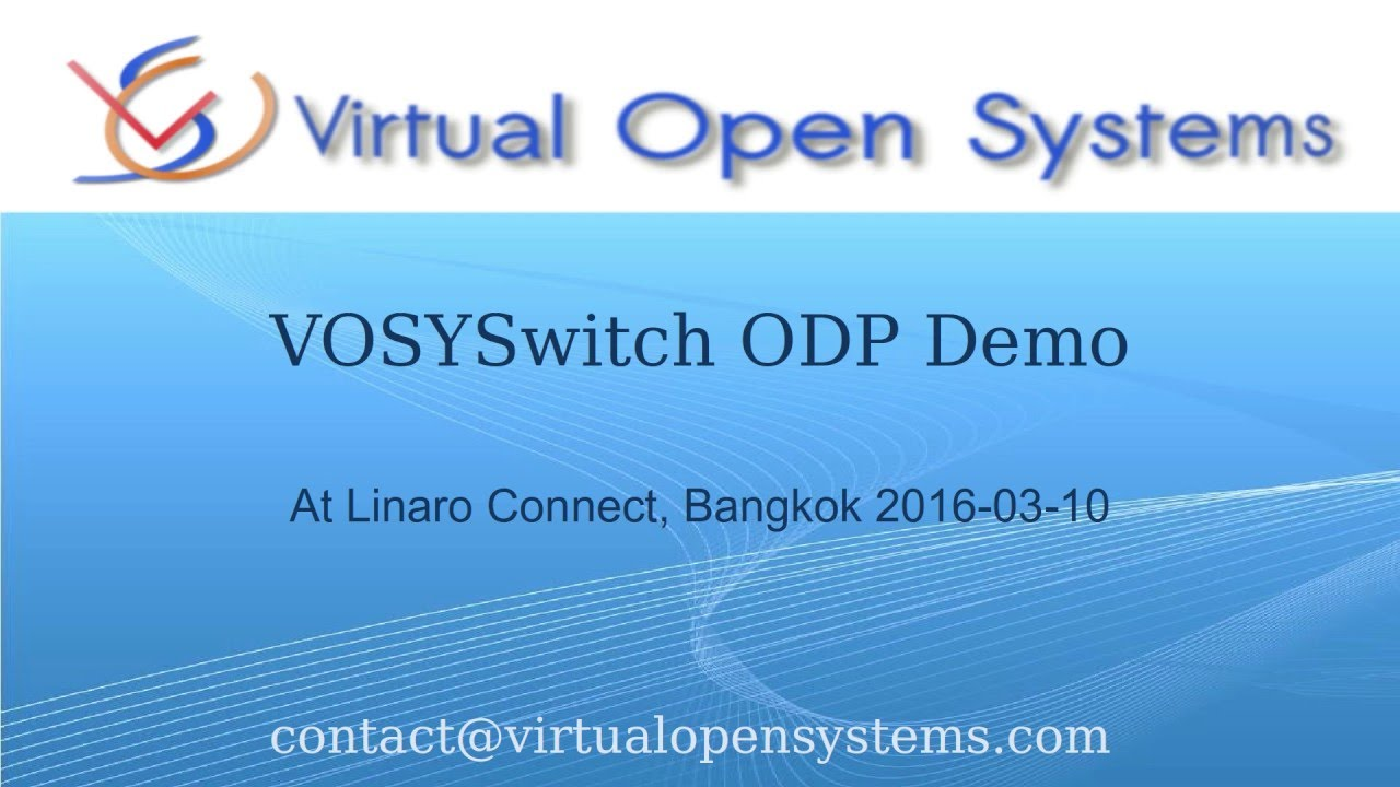 VOSYSwith leverages ODP to enable accelerated VNFs chaining
