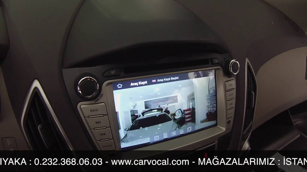 hyundai ix35 магнитола carplay