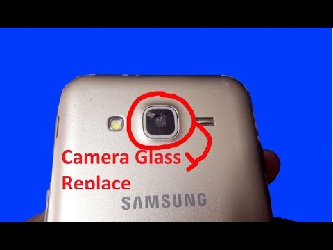 How to all samsung galaxy camera lens replacement-2018