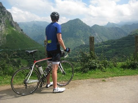 Cycling in the Picos de Europa Mountains