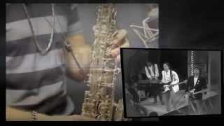 "Sax Solo Cover by Caleb Lopez ""Und Ich Sehn"