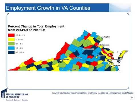 The Regional View: US and Virginia Economic Update