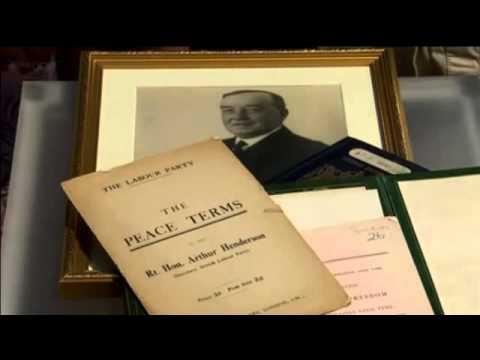 passport collector - Arthur Henderson_Antique Road Show UK