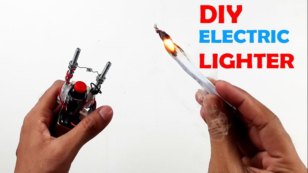 How to Make an Electric Hot Wire Lighter - How To Make an Electric ...
