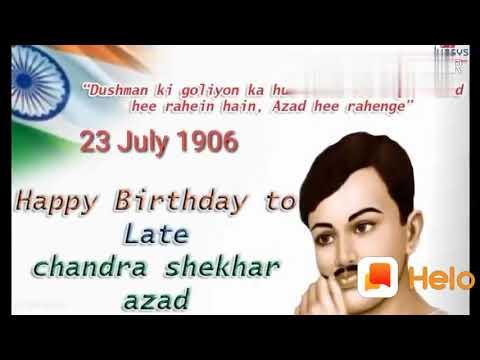 Chandra shekhar azad best status