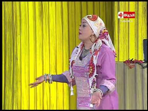 تياترو مصر - حلقة الجمعة 1-1-2015 مسرحية ' الدنيا على جناح فلاشه ' - Teatro Masr