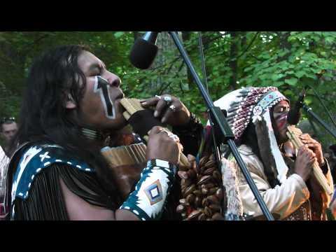 Индейцы в Тойла 2013. Сhoctaw spirit
