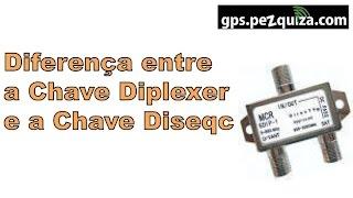 DIFERENÇA ENTRE CHAVE DIPLEXER e CHAVE DISEQC - GPS.Pezquiza.com