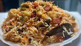 ऐसी वेज दम बिरयानी खाकर स्वाद मुँह से नही उतरेगा   Veg Dam Biryani   Easy And Quick Biryani Recipe