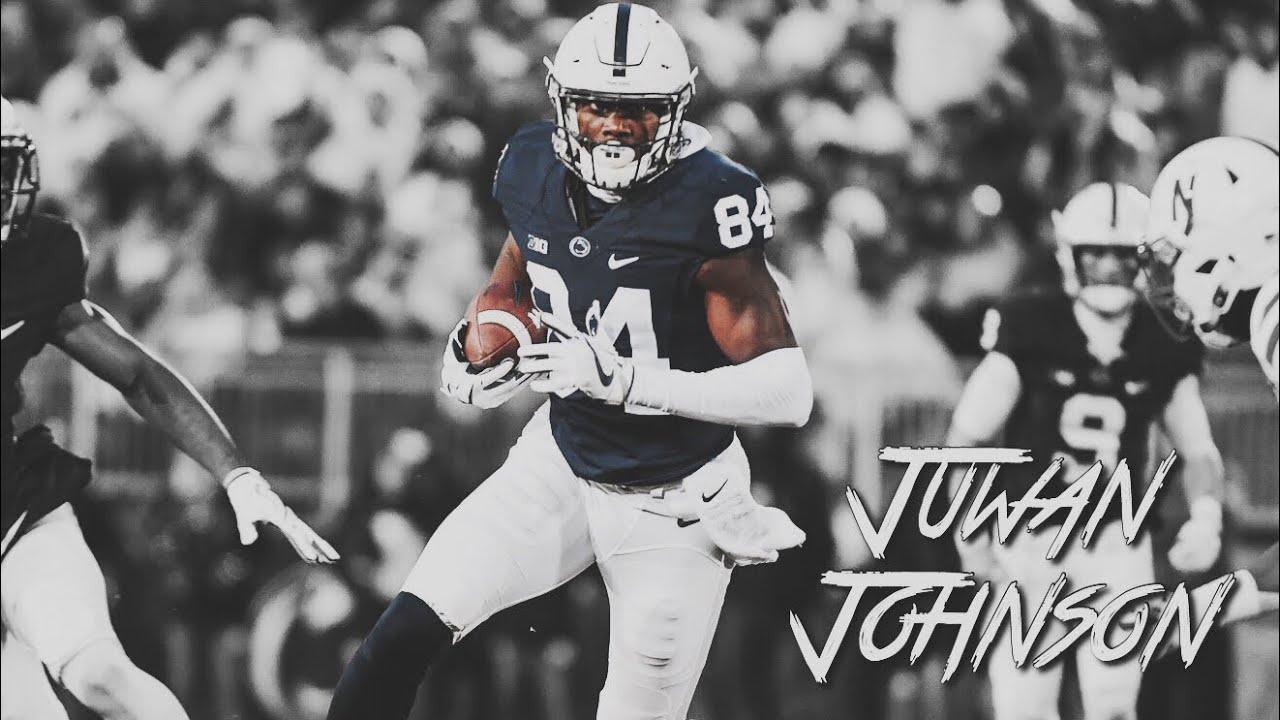 Juwan Johnson 2017-18 Highlight Mix || Penn State WR #84 ...