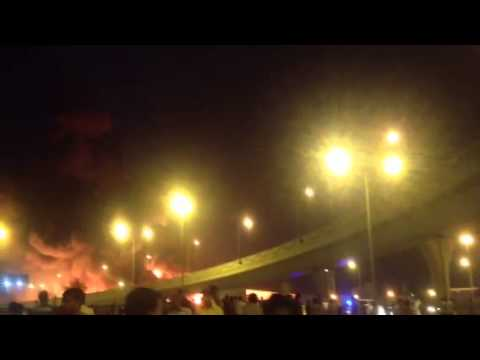 Fire at Industrial area doha