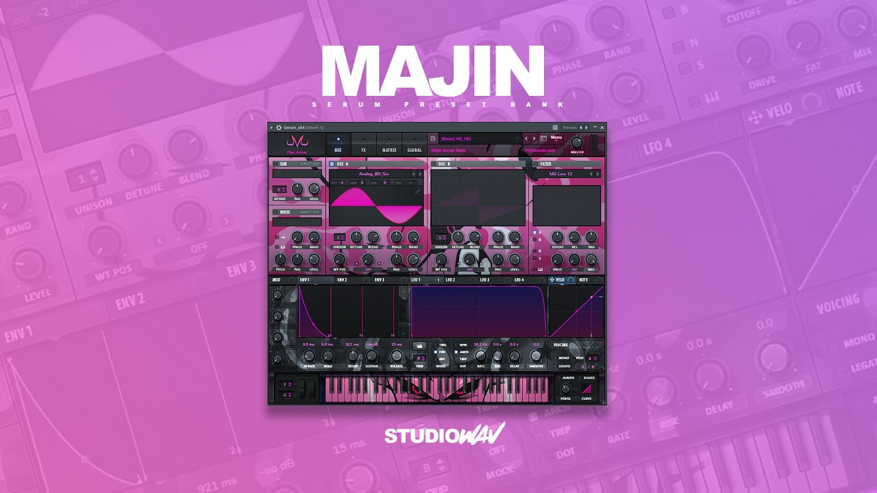 HQSoundz and StudioWAV has released an outstanding free Soundbank and skin for Serum
