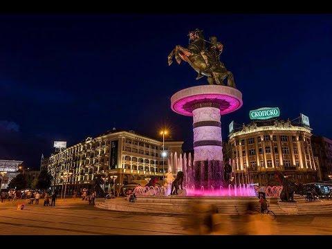 Látnivalók Szkopjéban #Macedónia