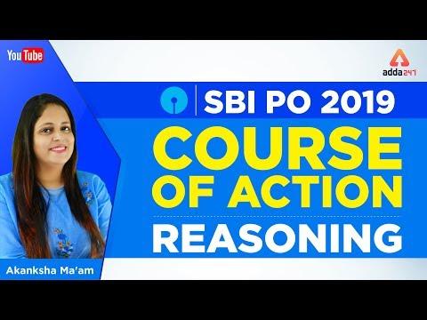 SBI PO 2019 | Course Of Action | Reasoning | Akanksha Ma'am - 12 Noon
