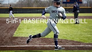 Big Blue Baseball Skills Academy: 5-in-1 Baserunning Drill