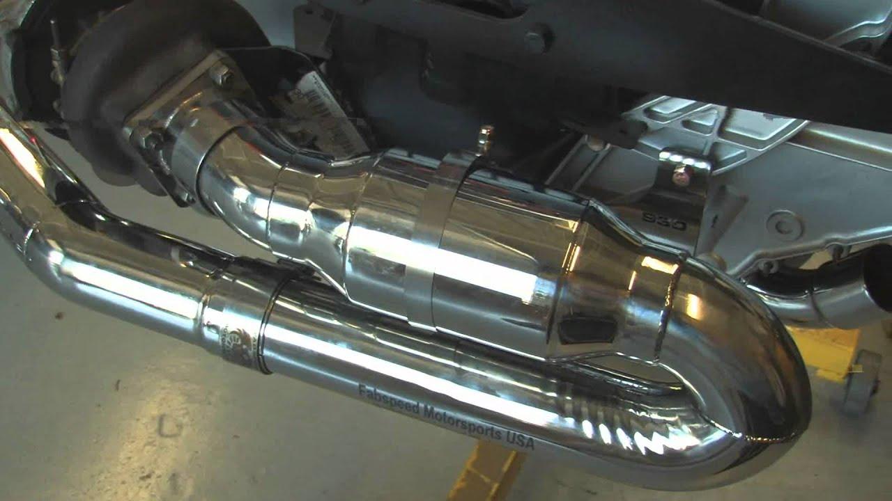Porsche 911 Turbo 930 Sport Cat Muffler Bypass Exhaust