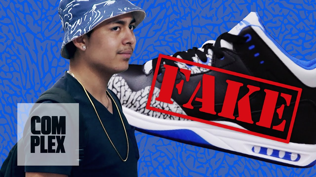 Selling Fake Air Jordan Shoes to Hypebeasts: Hidden Camera Prank On Complex  - YouTube