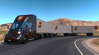 "[""tesla semit truck ups"", ""tesla ups"", ""tesla semi truck"", ""tesla truck"", ""camion tesla"", ""tesla"", ""camion electrico"", ""tesla nevada"", ""nevada"", ""triple remolque"", ""american truck"", ""truck simualtor"", ""trucks"", ""trailer"", ""trailers"", ""simulador"", ""simulat"
