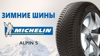 Зимние шины Michelin Alpin 5 - видео обзор