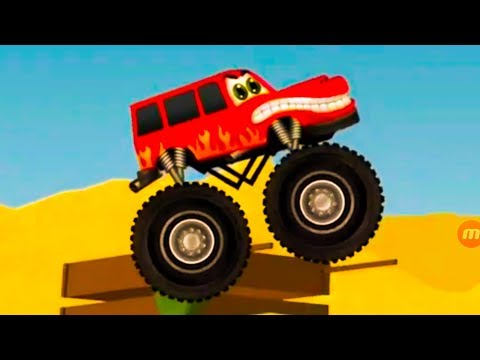 Monster Truck | Car Repairs & Cool Car Track | Kids Truck – Car Videos for Baby Toddlers #10