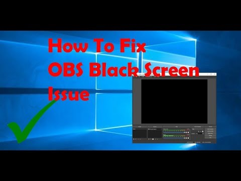 Obs Black Screen Windows 7