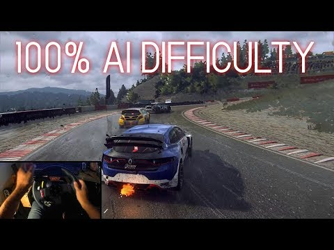 Smoking Dirt Rally 2.0 AI - MAX Difficulty Rallycross | Renault Sport Megane RS RX