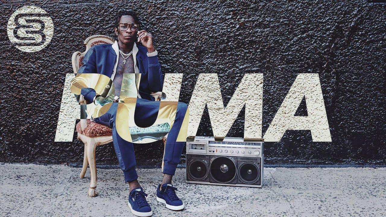 young thug puma shoes
