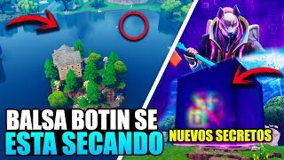BALSA BUTTON IS SECATING *FILTRATED* NEW CUBE HIDDEN SECRETS FORTNITE BATTLE ROYALE