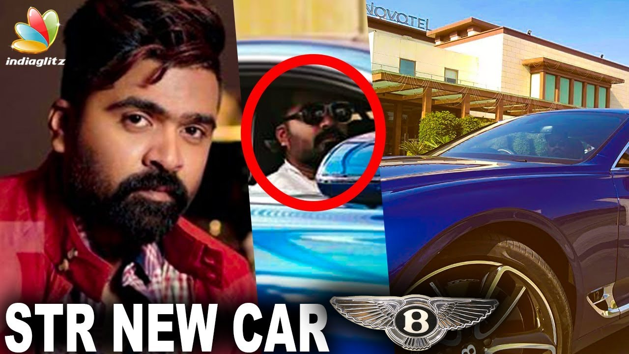 Simbu's New Luxurious 1st in Market Car | Hot Tamil Cinema News