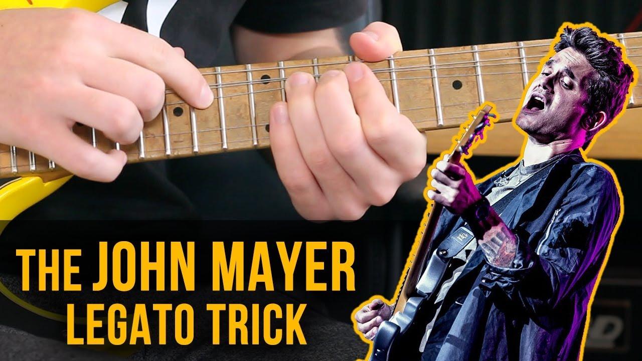 The John Mayer Legato Trick | [ HOW TO + LICKS ] - YouTube