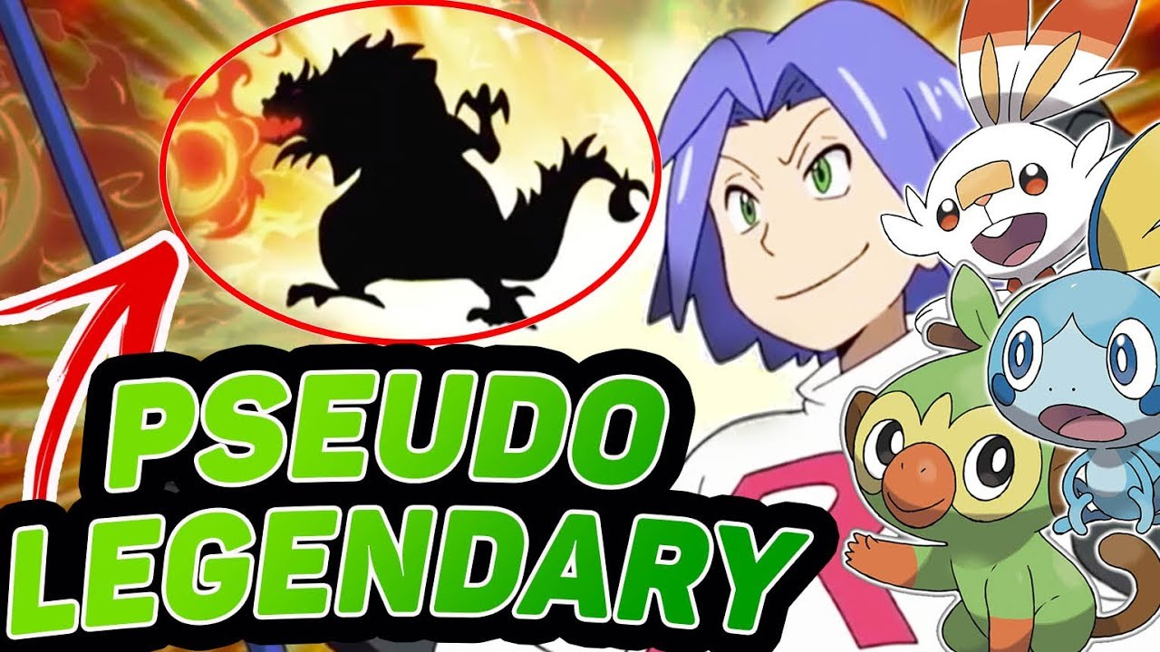 A Secret Pseudo Legendary Pokemon For Pokemon Sword And Shield