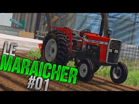 Farming Simulator 15 | Maraîchage sur Breizh Ma Bro | Episode 1 | On s'occupe des vignes !
