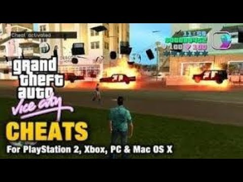 gta vice city cheat codes 2017 - youtube