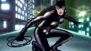 Batman chases Catwoman Scene - BATMAN: HUSH (2019) Movie Clip