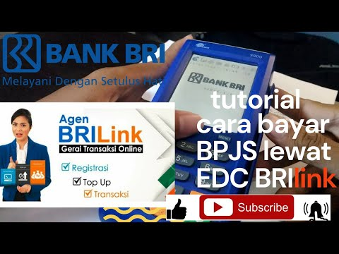 Cara bayar BPJS lewat EDC BRIlink