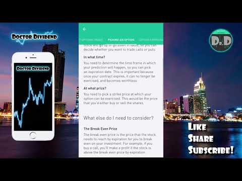 FREE OPTIONS TRADING! | Robinhood Free Stock Market Investing!