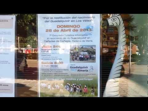 Guadalquivir NACIMIENTO los Velez excursion turistica Informativa  Reservas Agencia viajes Frahermar