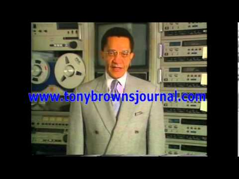 The Official Tony Brown's Journal -- AIDS Maverick