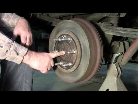 how to take off drum brakes